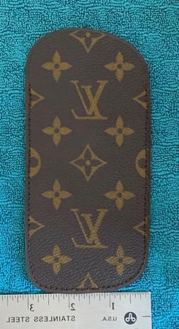 NEW - Vintage LOUIS VUITTON Eyeglasses Soft Case Monogram Ne