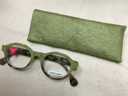 NEW! Women's Fashion Eyeglasses / Reading Glasses w/Case +2.