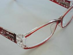 """Foster Grant """"Holland"""" Reading Glasses with Loop & Case +1.0"""