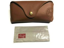 SPECIAL EDITION CASE Ray Ban Sunglasses Brown Case With Clea