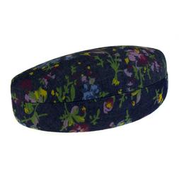 Sunglasses & Glasses Cases Protective Hard Case Oval Floral