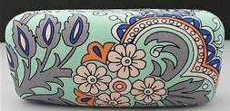 Vera Bradley Sunglasses Case FAN FLOWERS Pattern Large Hard
