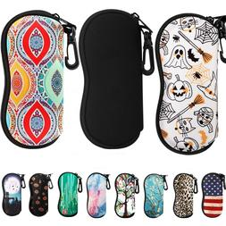 MoKo Fashion Portable Soft Sunglasses Bag Eyeglass Case Neop