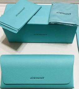 Tiffany & Co. Eyeglass Sunglass Case With Cleaning Cloth And