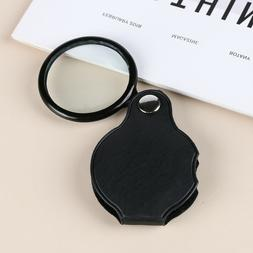 Tool Leather Case Jewelry Magnifier Loupe Eye Glass Lens Por