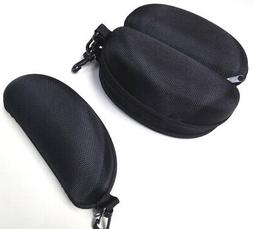 two black zipper cases with belt clip