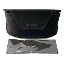 TOM FORD Velvet Sunglasses Case & Cloth Magnetic Catch Closu