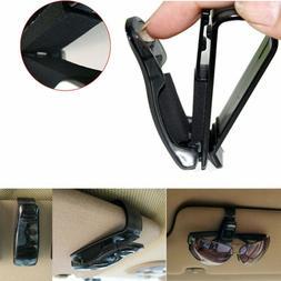 Visor Clip Case Bag Auto Car Vehicle Accessory Sun Eye Glass