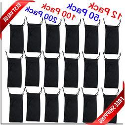 Wholesale sunglass pouches all black carry case sunglass BRA