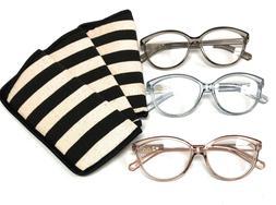 Franco Sarto Women's Reading Glasses Eyeglasses +2.00 Reader