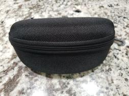 Zip Hard Sunglass/Eye Glasses Case with Belt Clip black New